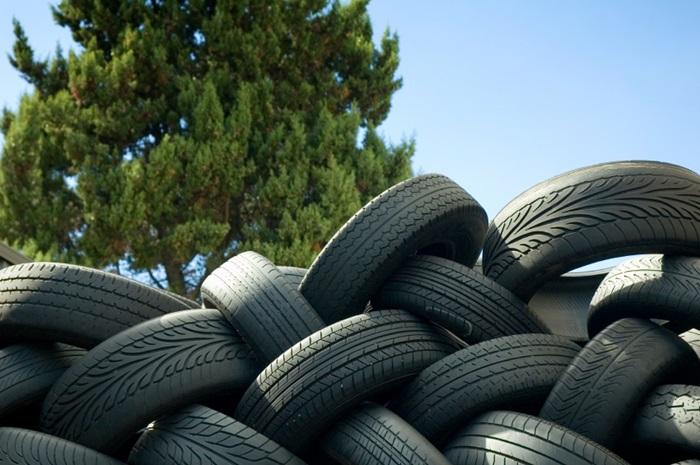 Conheça o destino do pneu velho de seu carro