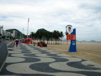 Lixômetro em Copacabana